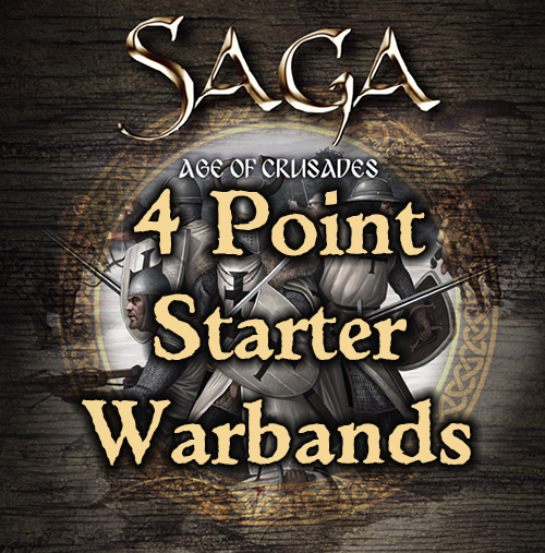 SAGA Age of Crusades Starter Warbands