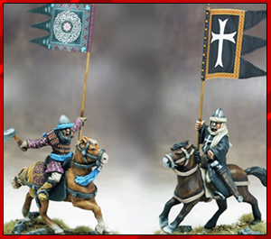 SAGA Age of Crusades War Banner Bearers