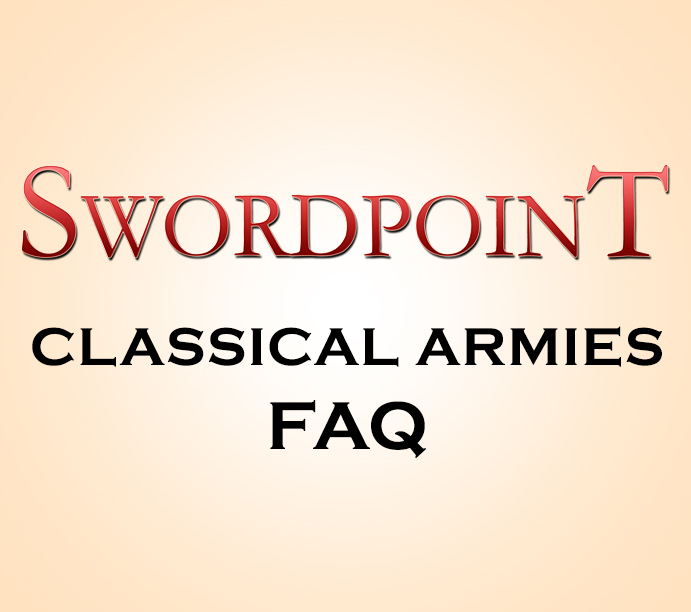 SWORDPOINT Classical Armies Errata & Living FAQ