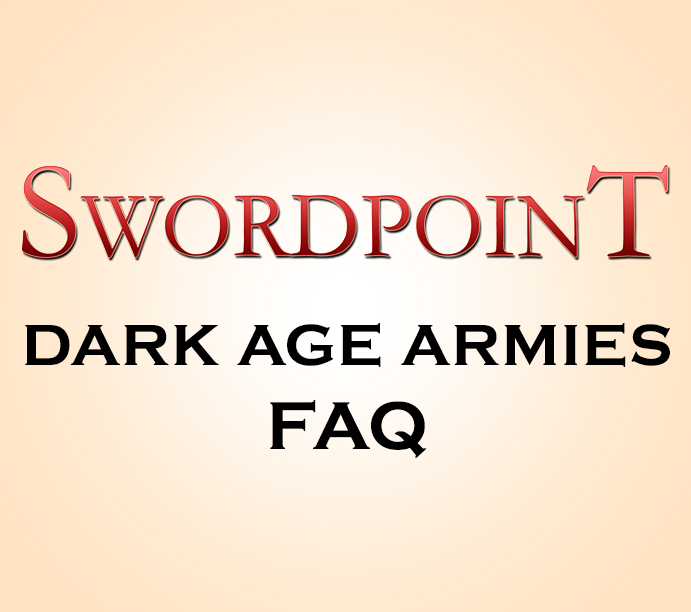 SWORDPOINT Dark Age Armies Errata & Living FAQ