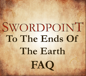 SWORDPOINT To the Ends of the Earth Errata and Living FAQ