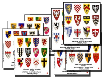 Shield Designs for Crusading Knights and MAA