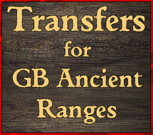 Transfers for GB Ancient Ranges