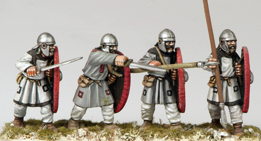 ABR03 Arthurian Regular Spearmen in Helmet (4)