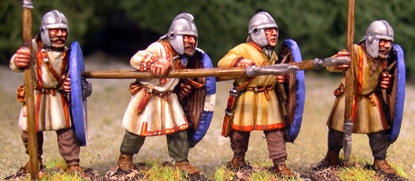 ABR06 Arthurian Regular Spearmen in Helmets Two (4)