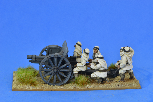 ARAB06 Krupp 75mm gun and 6 crew