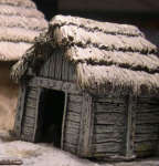 BUL07 Small Thatch Outbuilding