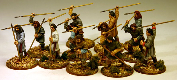 SB04 Breton Skirmishers (Levy) (12) 1 Point