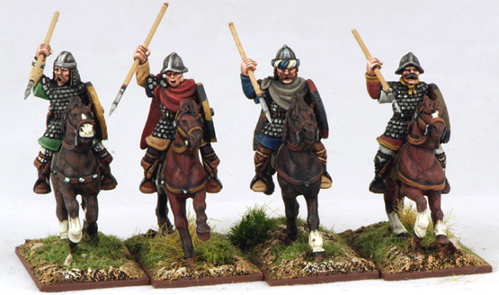 CFC01 Mounted Carolingian Hearthguards One (4)