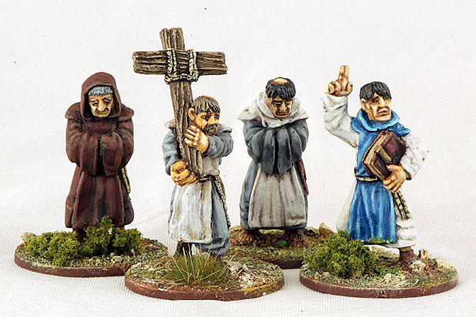 CIV01 Monks Parading Cross