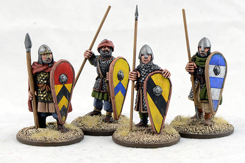 CRU05 Dismounted Knights Four (4)