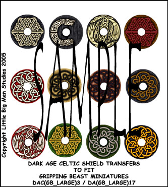 DAC(GB_LARGE)3 Dark Age Celtic Designs for Large Round Shields Three (12)