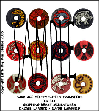 DAC(GB_LARGE)5 Dark Age Celtic Designs for Large Round Shields Five(12)
