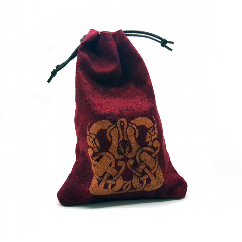 Dice Bag (Red) Beast