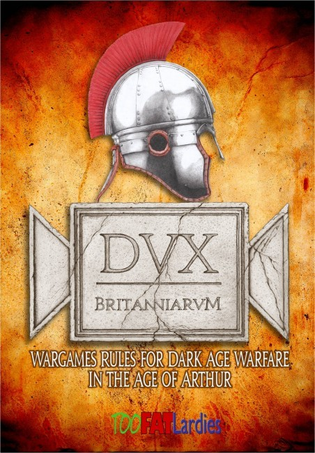 Dux Britanniarum (Rulebook, Map & Cards)