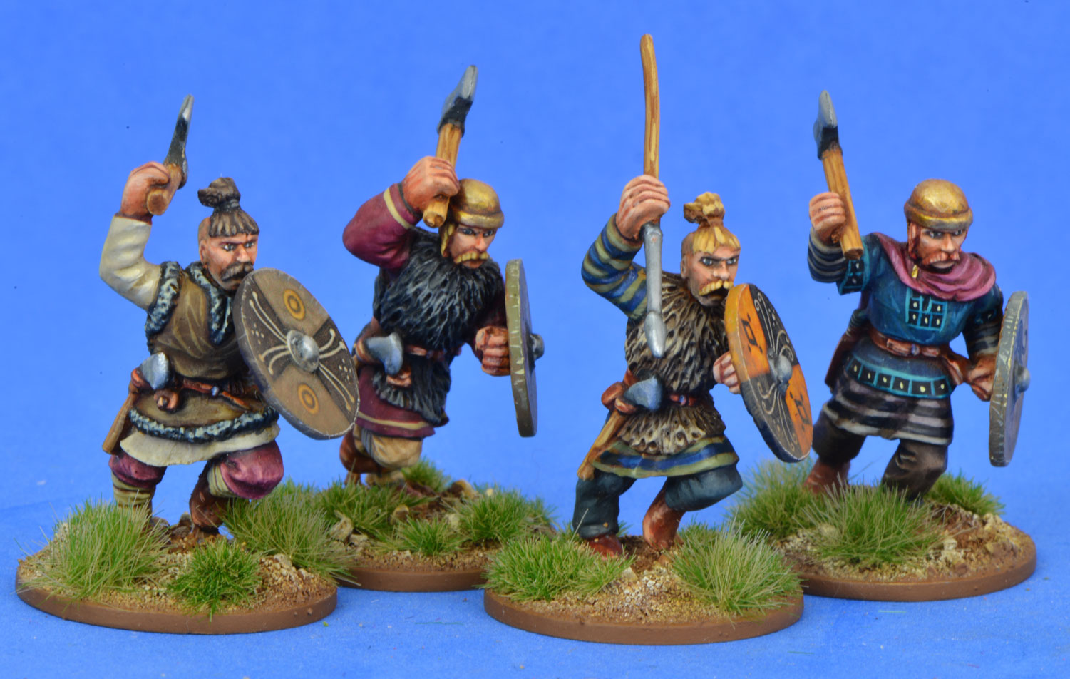 FRA05 Merovingian/Salian Franks - Warriors Three (4)