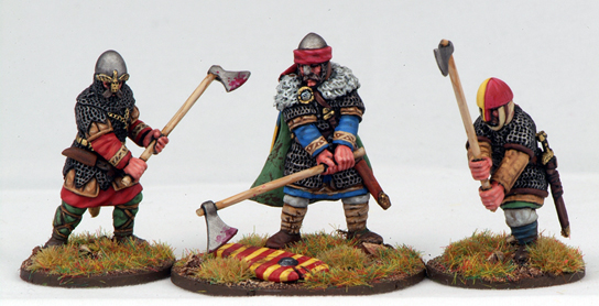 SHVA03 Harold Godwinson & His Brothers, Last Saxon King of England  - Anglo-Danish Heroic Unit