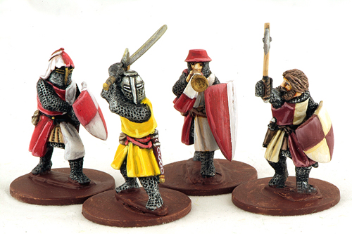 LCF05 Crusading Foot Knights (Command) (4)