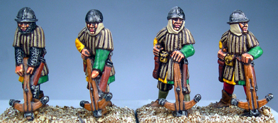 LCF12 Frankish Foot (Crossbowmen) (Loading) (4)