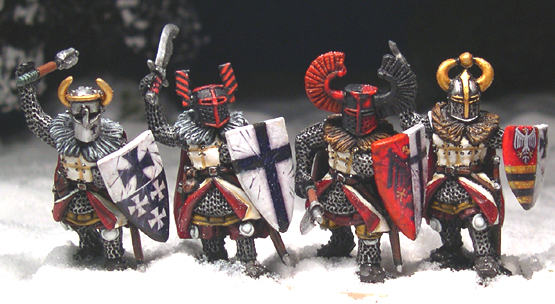 LCF17 Teutonic Foot Knights (Hand Weapons) (4)