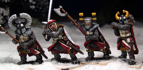 LCF18 Teutonic Foot Knights (Great Weapons) (4)