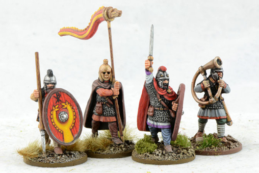 LR01 Late Roman Infantry Command (Armoured) (4)