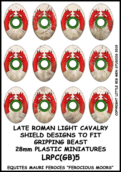 LRPC(GB)5 Late Roman Light Cavalry Shield Transfers