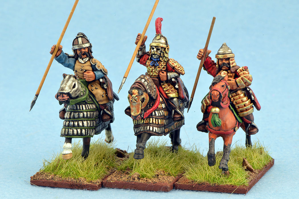 MNC04 Mongol Heavy Cavalry (Spears) (3)