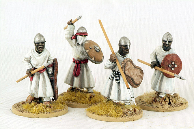 MOR01 Nubian Spearmen (Advancing) (4)