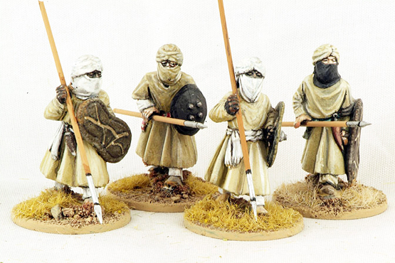 MOR04 Berber Spearmen (Advancing) (4)