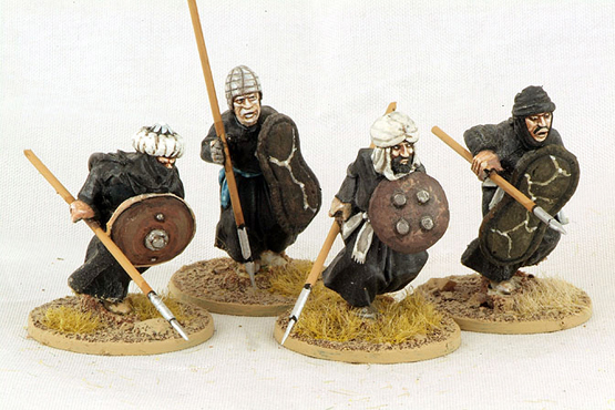 MOR06 Berber Spearmen (Charging) (4)