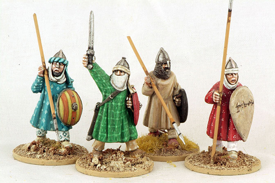 MOR08 Andalusian Spearmen (Advancing) (4)