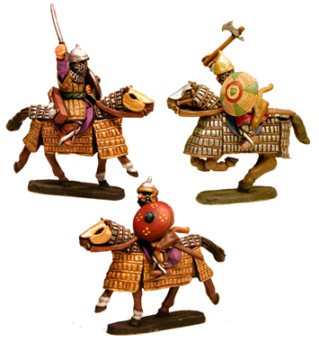 Timurid Heavy & Medium Cavalry
