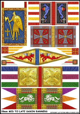 Mid To Late Saxon Banners