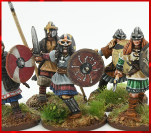 Age of Vikings SAGA Starter Bundle - Metal Shieldmaidens