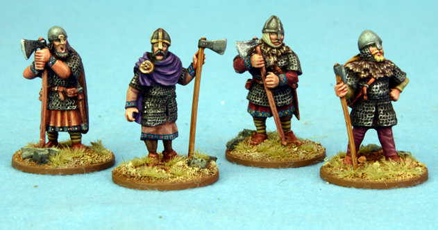 SA02b Anglo Danish Hearthguard Axemen STANDING 1 point