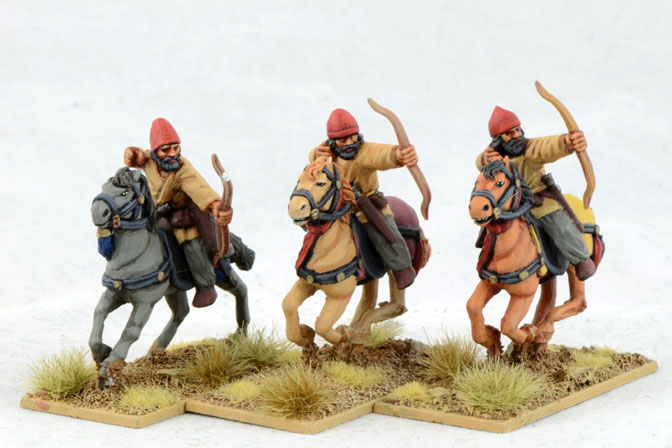 SAC10 Sassanid Tribal Horse Archers (Hats) (3)