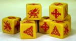 SAGA Dice - Welsh