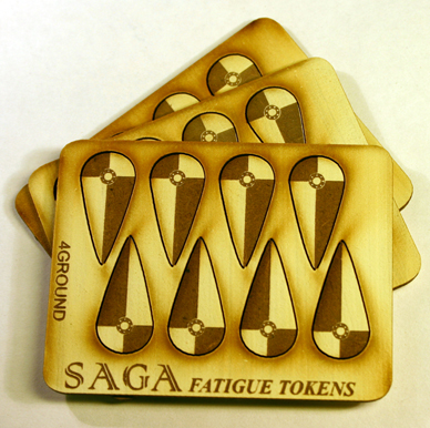 SAGA Fatigue Tokens - Kite Shields