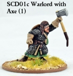 SCD01c Crusader Warlord with Double Handed Axe (1)