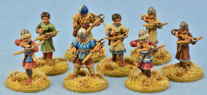 SCD07 Crusader Sergeants with Crossbows (Warriors) (8)