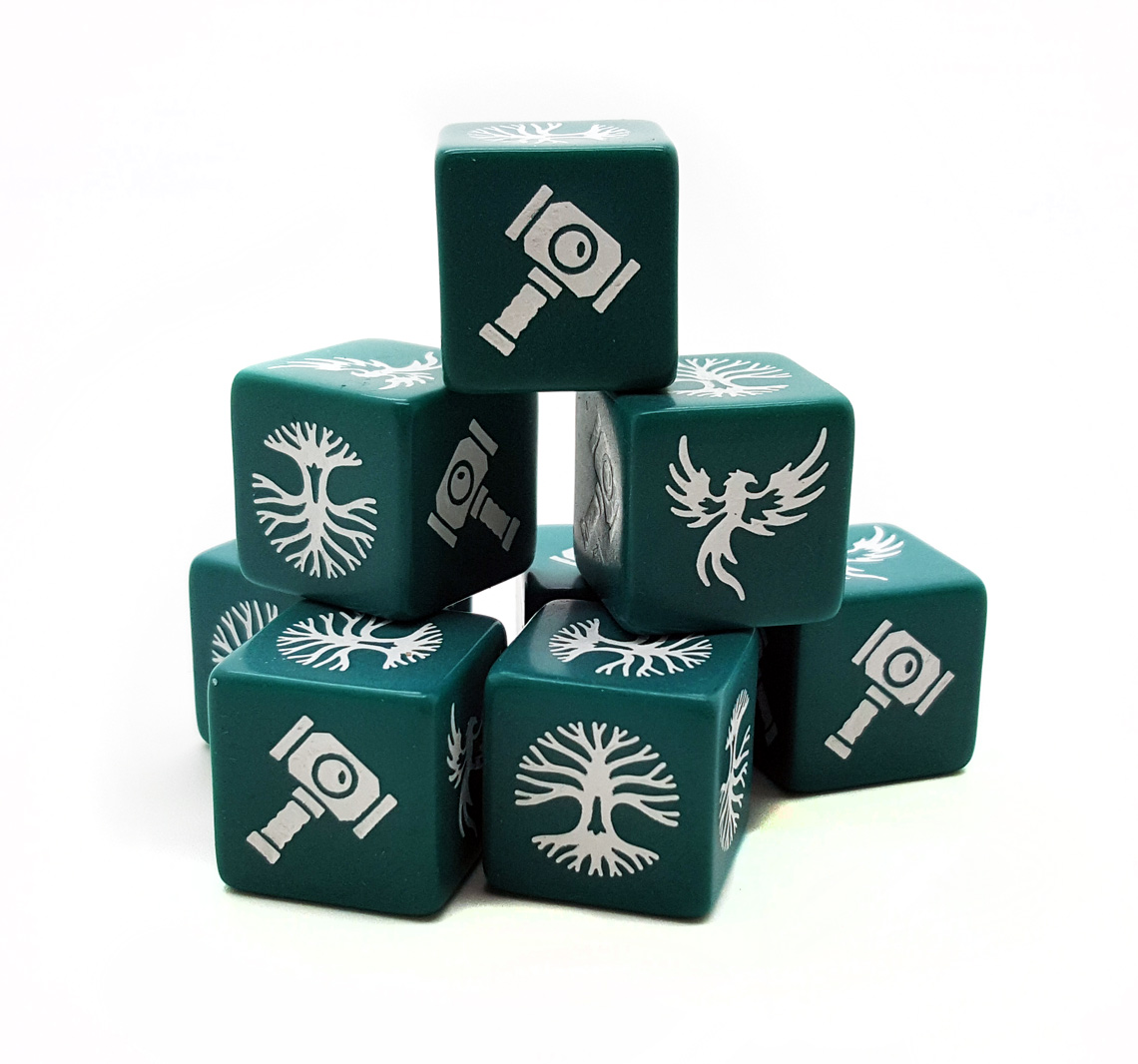 SD11 Forces of Order Dice (8)