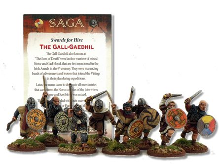 SFH04 Gall-Gaedhill (Sons Of Death) includes Rules Card (8)