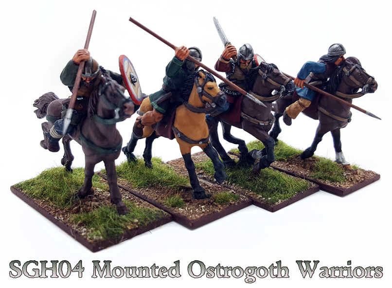 SGH04 Mounted Ostrogoth Warriors (8)