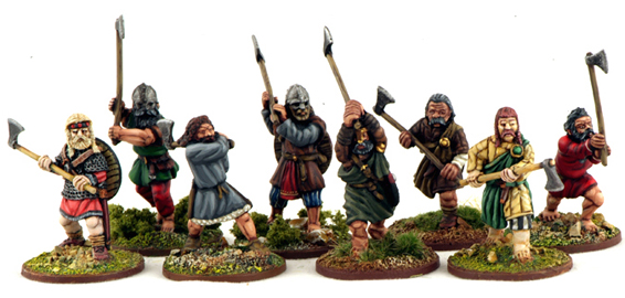 SH05 Norse Gael Warriors with Dane Axes (8)