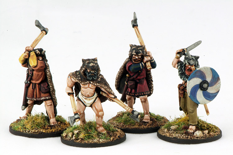 SV03 Berserkers (Hearthguard) (4) 1 point