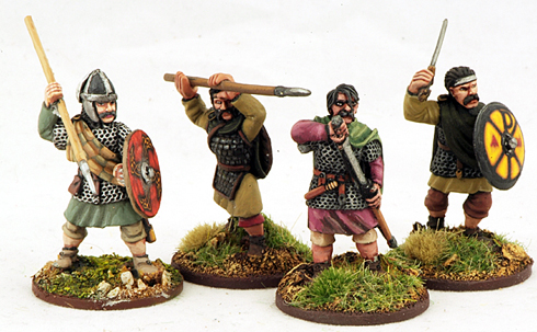 SW02 Welsh Teulu (Hearthguard) (4) 1 point