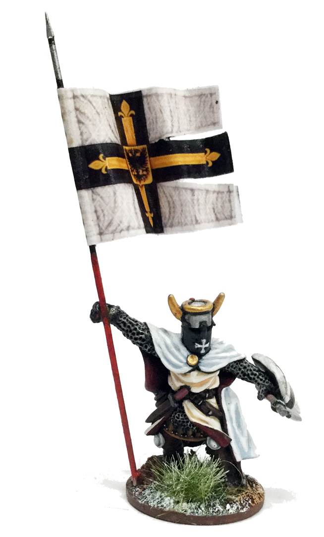 SWBB16 Foot Ordensstaat / Teutonic War Banner Bearer