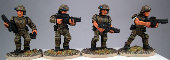 SciFi04 Marines Pack Two (4)