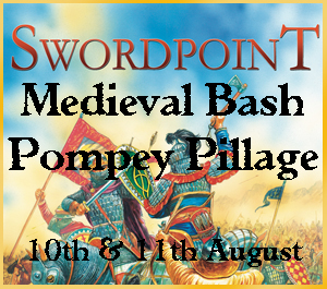 SwordpoinT Medieval Armies Bash Pompey Pillage 10th & 11th August 2019